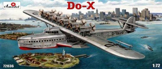 Amodel Dornier Do-X flying boat makett