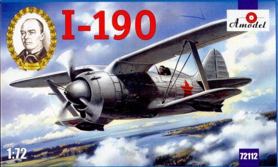 Amodel I-190 Soviet aircraft makett