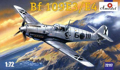 Amodel Messerschmitt Bf 109 E-3/E-4 makett