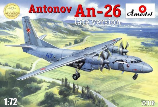 Amodel Antonov An-26, late version makett