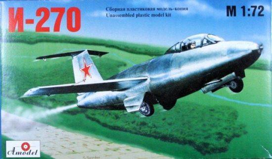 Amodel I-270 Soviet interceptor makett
