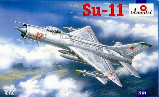 Amodel Su-11 Soviet fighter-interceptor makett