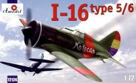 Amodel I-16 type 5/6 Soviet fighter