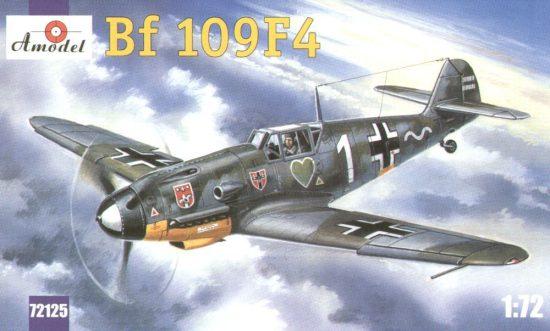 Amodel Messerschmitt Bf-109F4 makett