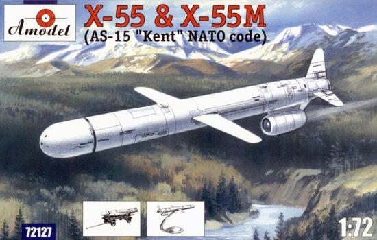 Amodel KH-55 & KH-55M 'AS-15 Kent' makett