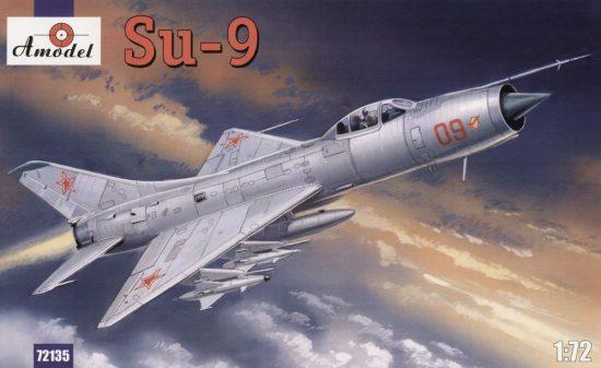 Amodel Su-9 Soviet fighter-interceptor makett