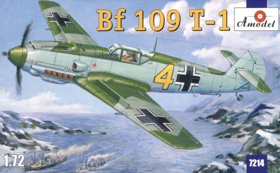Amodel Messerschmitt Bf 109 T-1 makett