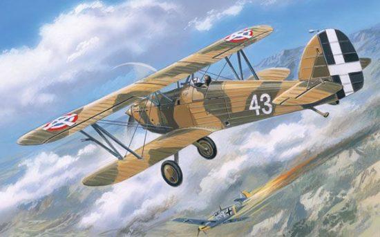 Amodel Hawker Fury Yugoslavian AF fighter makett
