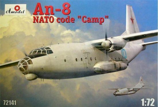 Amodel Antonov An-8 VSU makett