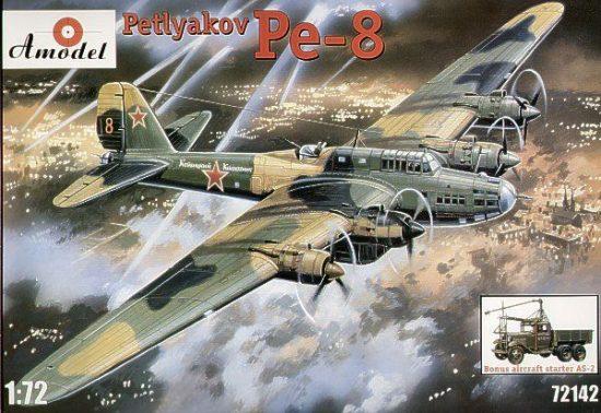 Amodel Pe-8 & AS-2 makett