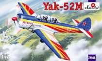 Amodel Yak-52M two-seat sporting aircraft makett