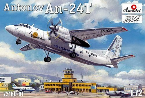 Amodel Antonov An-24T Phoenix Avia makett
