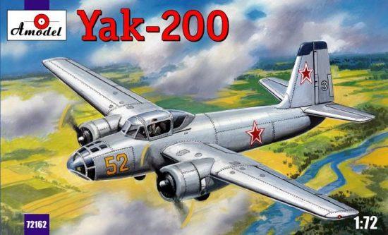 Amodel Yak-200 Soviet trainer aircraft