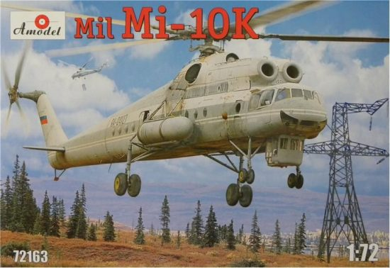 Amodel Mil Mi-10K Soviet 'Flying Crane' makett
