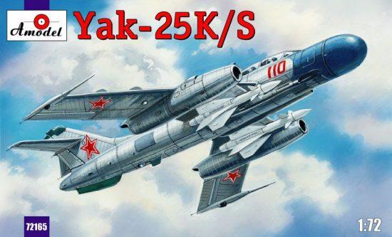 Amodel Yakovlev Yak-25K/S Soviet fighter makett