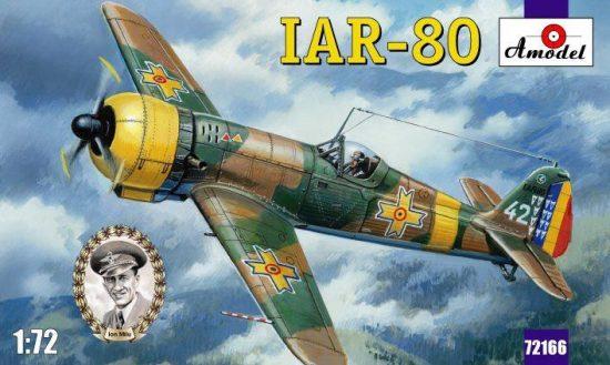 Amodel IAR-80 Romanian fighter makett
