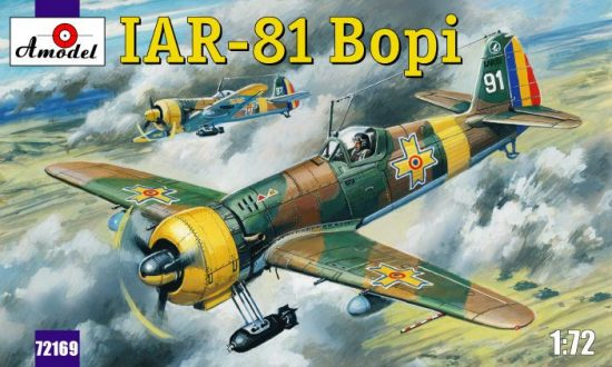 Amodel IAR-81 'Bopi' Romanian fighter makett