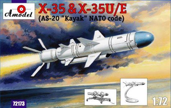 Amodel Kh-35 & Kh-35U/E (AS-20 Kayak) makett
