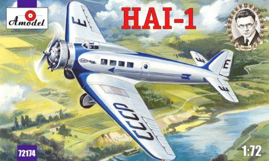 Amodel HAI-1 Soviet passenger aircraft