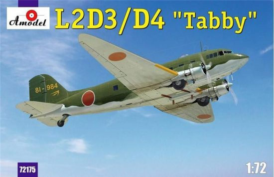 Amodel L2D3/D4 Taddy Japan transport aircraft makett