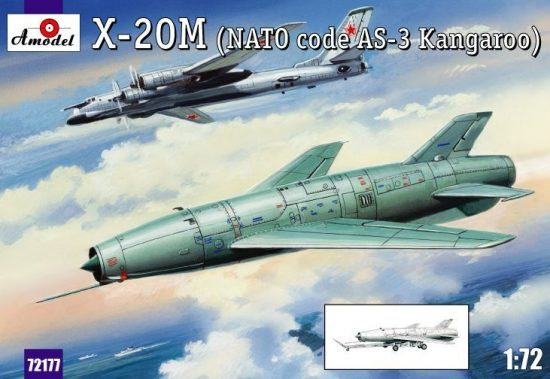 Amodel X-20M (AS-3 Kangaroo) makett