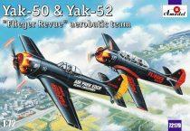 Amodel Yak-50 & Yak-52 'Flieger Revue' makett