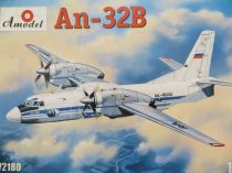 Amodel Antonov An-32B civil aircraft makett