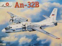 Amodel Antonov An-32B civil aircraft makett
