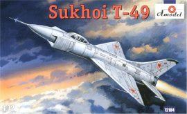 Amodel Sukhoi T-49 Soviet interceptor