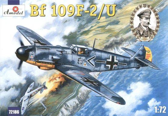 Amodel Messerschmitt Bf-109F-2/U makett