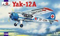 Amodel Yakovlev Yak-12A makett
