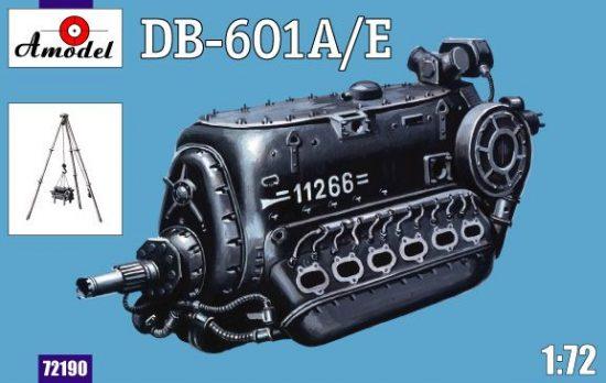 Amodel DB-601A/E engine makett