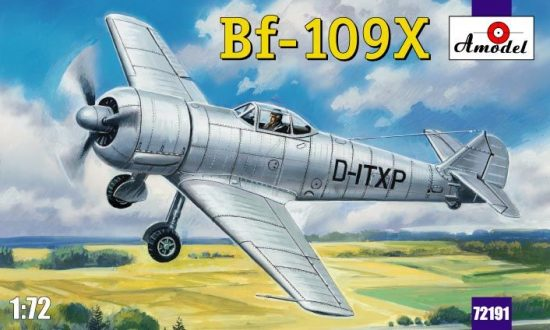 Amodel Bf-109X German experimental aircraft