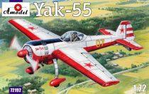 Amodel Yak-55 Soviet aerobatic aircraft makett