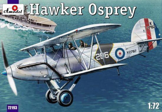 Amodel Hawker Osprey makett
