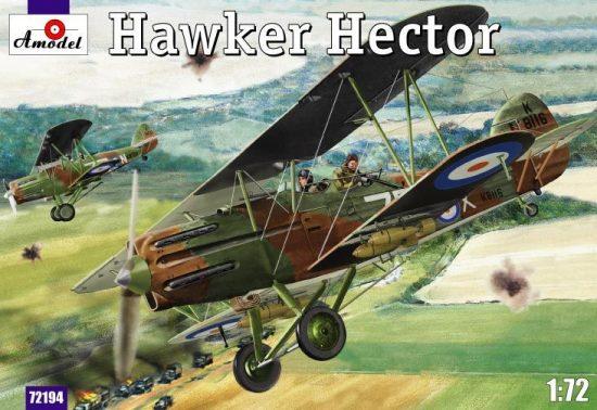 Amodel Hawker Hector makett