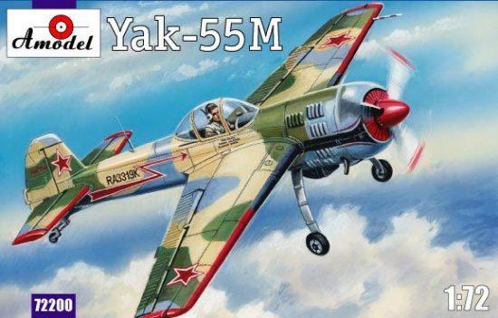 Amodel Yak-55M Soviet aerobatic aircraft makett
