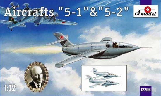 Amodel Aircraft '5-1' & '5-2' makett