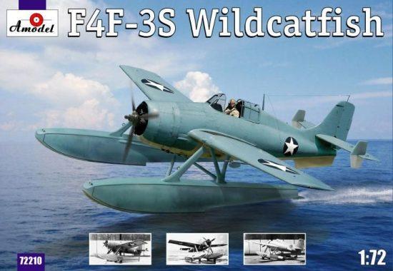 Amodel F4F-3S 'Widcatfish' USAF floatplane makett