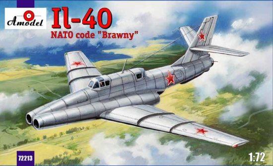 """Amodel Ilyushin IL-40 """"Brawny"""" makett"""
