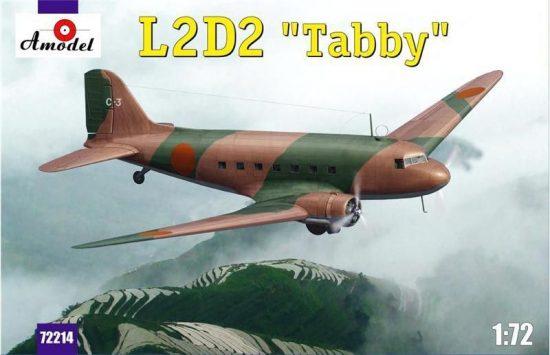 Amodel L2D2 Taddy Japan transport aircraft makett