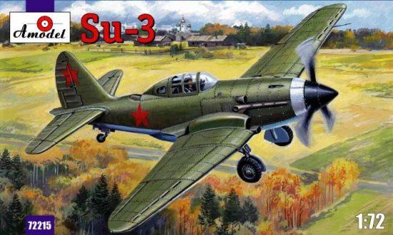 Amodel Sukhoi Su-3 Soviet fighter makett