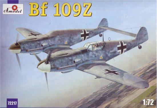 Amodel Messerschmitt Bf-109Z makett