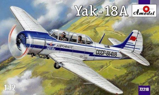 Amodel Yakovlev Yak-18