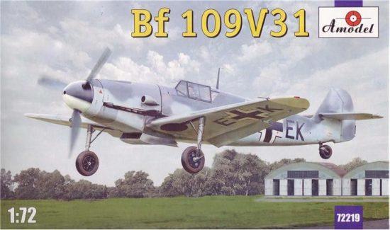 Amodel Messerschmitt Bf-109V31 makett