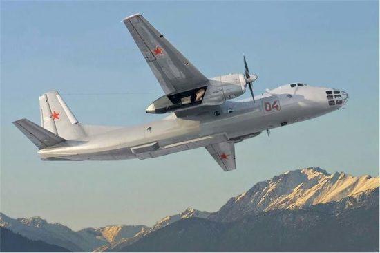 Amodel Antonov An-30 makett