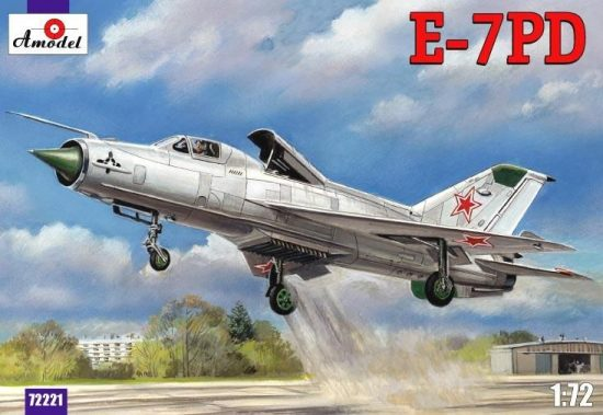 Amodel E-7PD Soviet aircraft makett