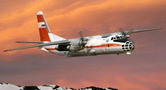 Amodel Antonov An-30D Sibiryak makett
