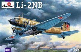 Amodel Lisunow Li-2NB Soviet light bomber