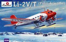 Amodel Lisunow Li-2V/T Soviet polar aircraft makett